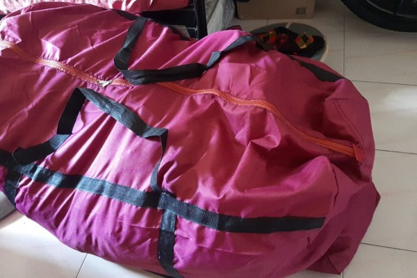 4 Duffel Bag, Office Monitor, Foldable Adult Cycle, Office Chair